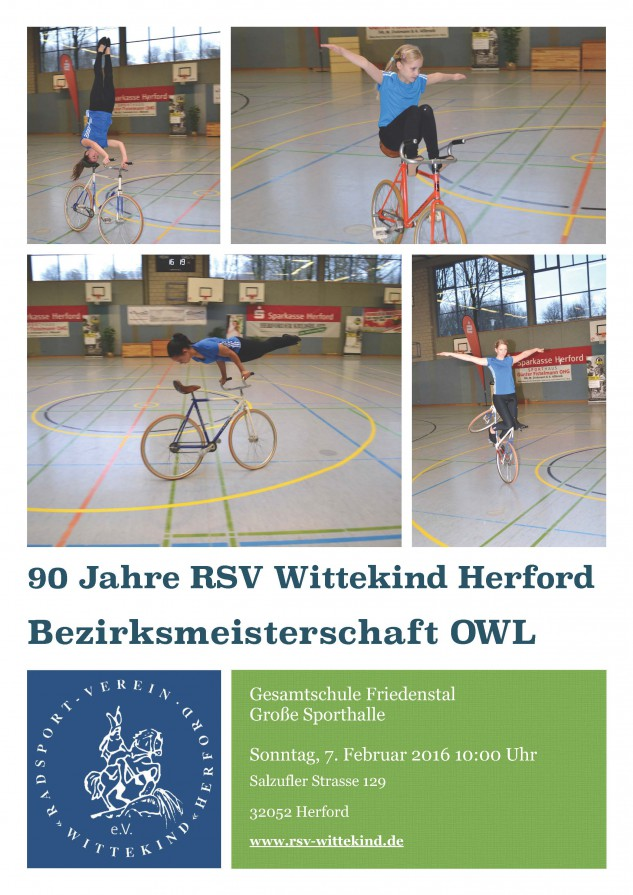 90 Jahre RSV Wittekind Herford Bezirksmeisterschaft OWL