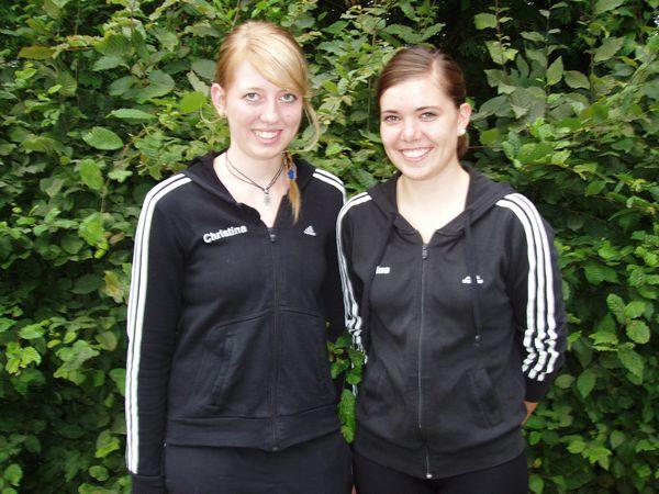Christina Biermann und Kristina Niehaus