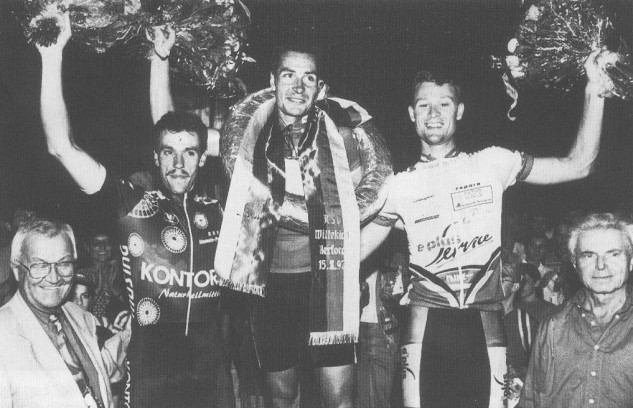 Eric Zabel gewinnt das Hoekerfest-Rennen am 15.6.1997