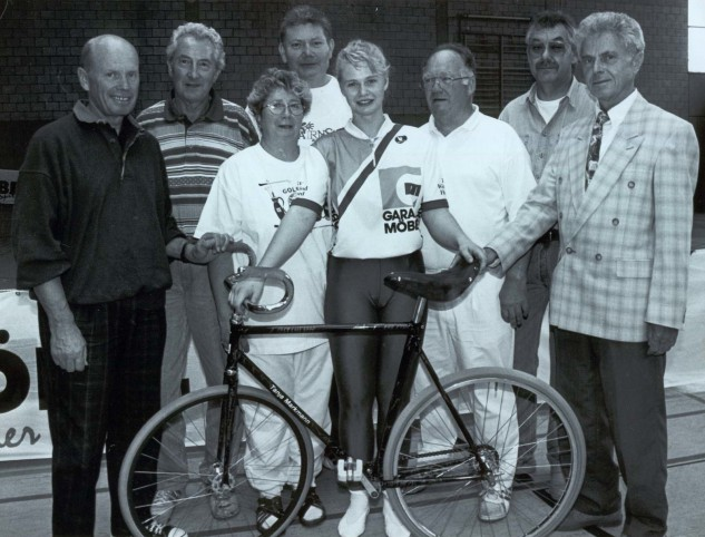 Tanja Markmann bei den German Master 1997 in Herford