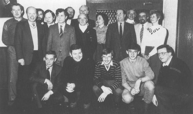 Der Vorstand 1984